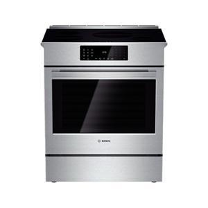 "Bosch Electric Ranges 30"" Induction Slide-in Range"