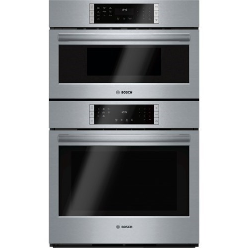 "Bosch Electric Wall Ovens 30"" Speed Combination Oven - 800 Series - Item Number: HBL8752UC"