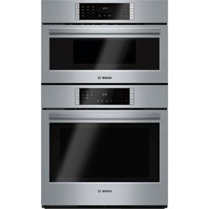 "Bosch Electric Wall Ovens 30"" Speed Combination Oven - 800 Series"