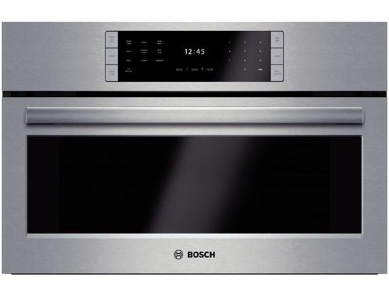 """Bosch Electric Wall Ovens 30"""" Steam Convection Oven - Item Number: HSLP451UC"""