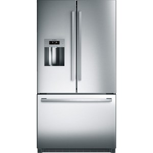 "Bosch French Door Refrigerators 36"" Standard Depth French Door Bottom Freeze"