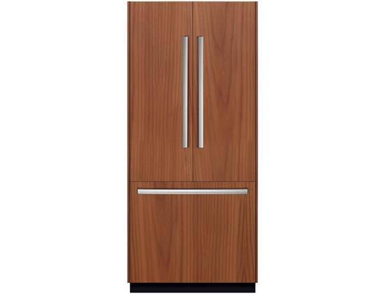 """Bosch French Door Refrigerators 36"""" Built In French Door Refrigerator - Item Number: B36IT800NP"""