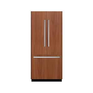 """Bosch French Door Refrigerators 36"""" Built In French Door Refrigerator"""