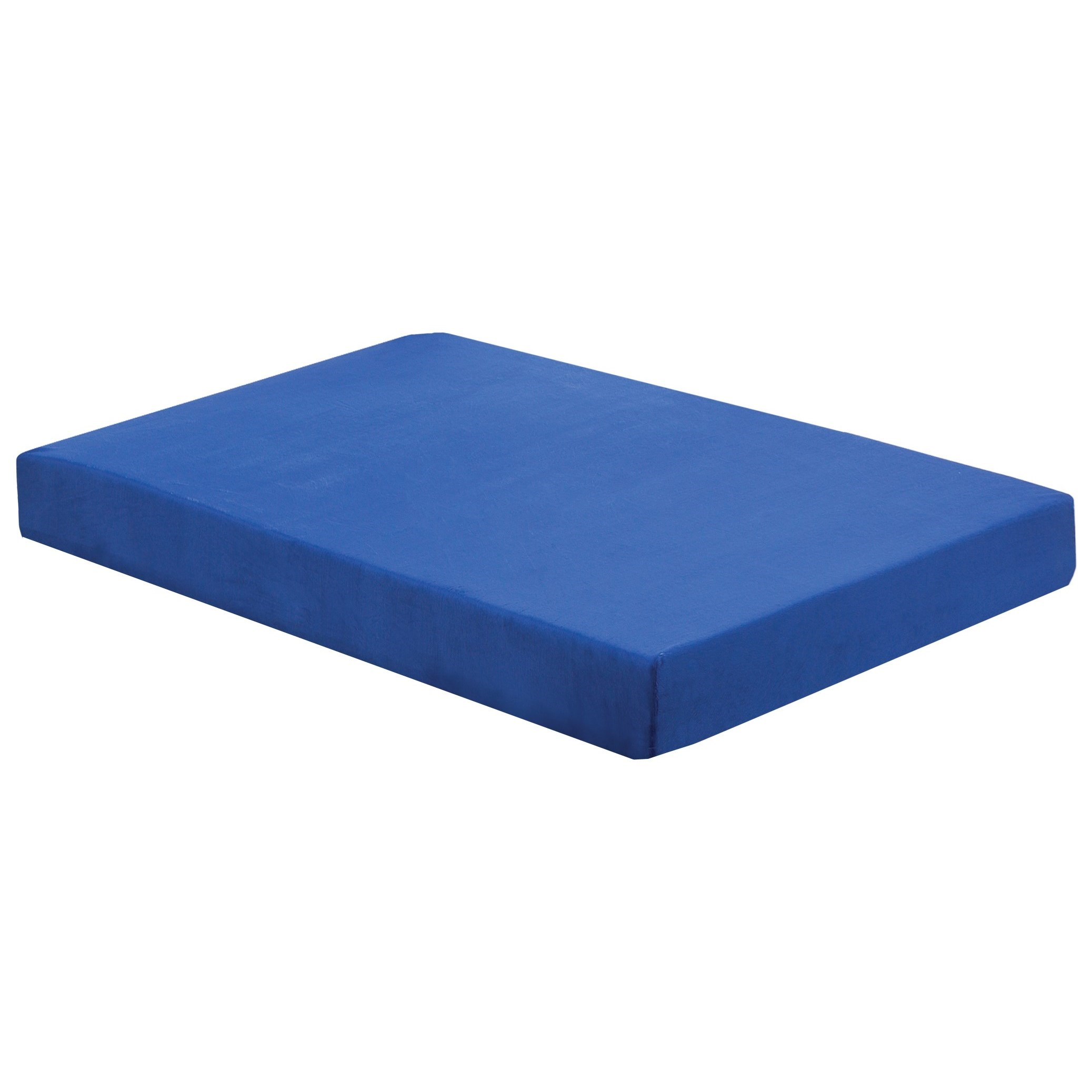"Full 7"" Blueberry Memory Foam Mattress"
