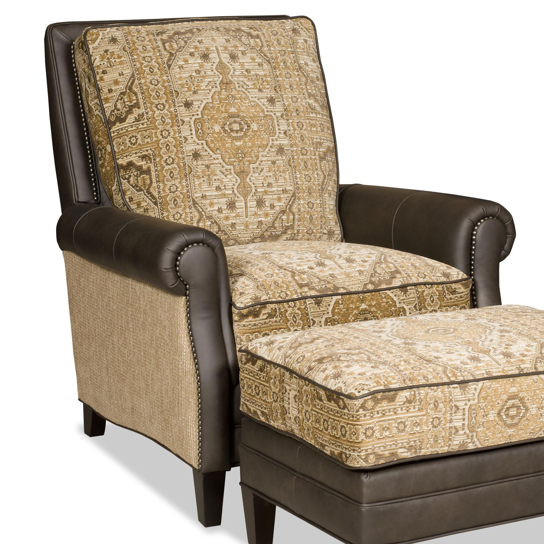Pleasing Bradington Young Aiden Transitional Tilt Back Recliner With Dailytribune Chair Design For Home Dailytribuneorg