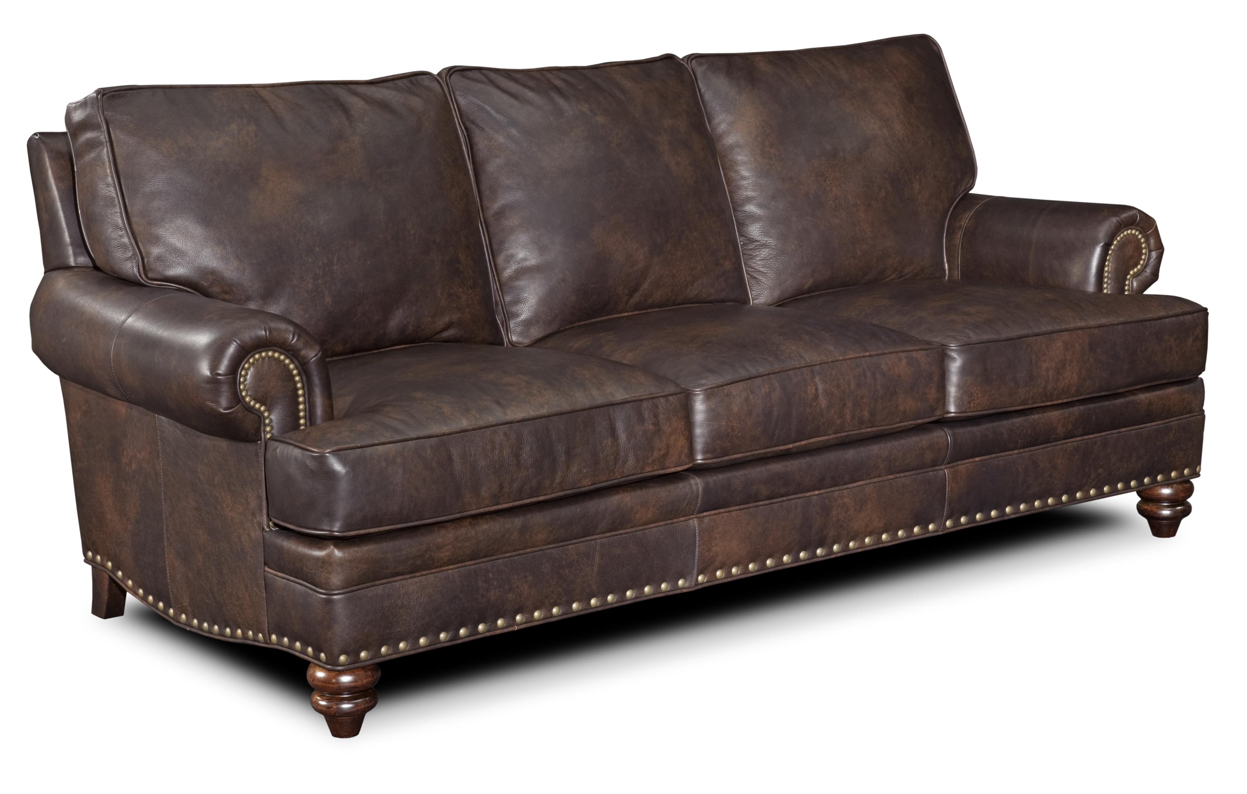 Bradington Young Carrado Traditional 8 Way Tie Sofa With