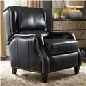 Bradington Young Chairs That Recline Freeman Power High Leg Recliner with Nailheads and Bustle Back