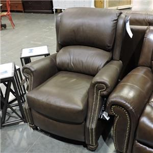Bradington Young Clearance Leather 3 Way Lounger