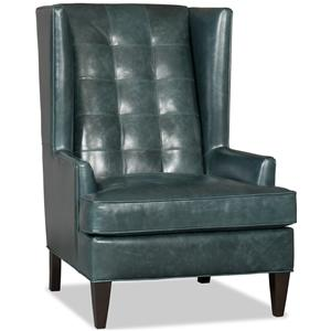 Bradington Young Club Chairs Zadie Wing Chair