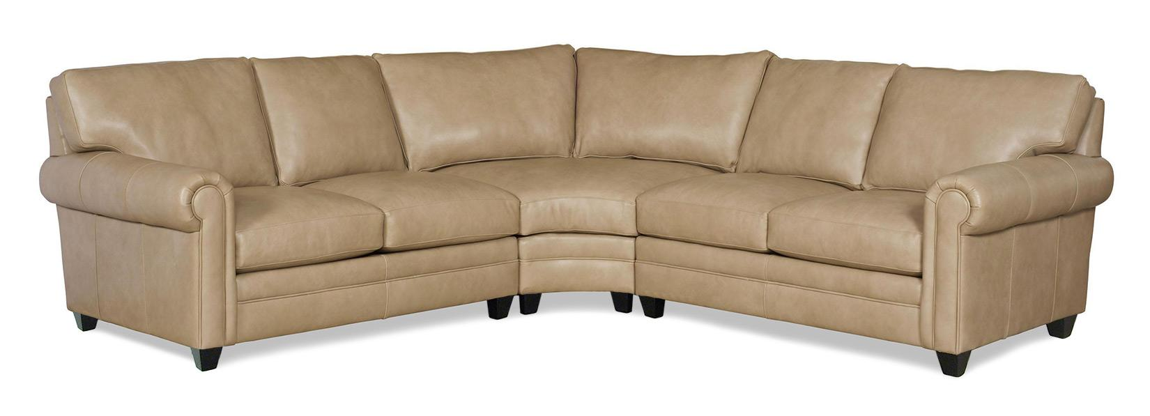 Bradington Young So You 3 Pc Sectional Sofa - Item Number: 172-57+58+68