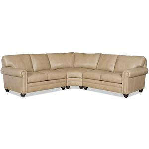Bradington Young Daire 3 Pc Sectional Sofa