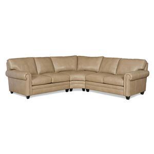 Bradington Young So You 3 Pc Sectional Sofa