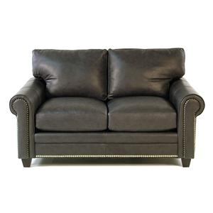 Bradington Young So You Leather Loveseat