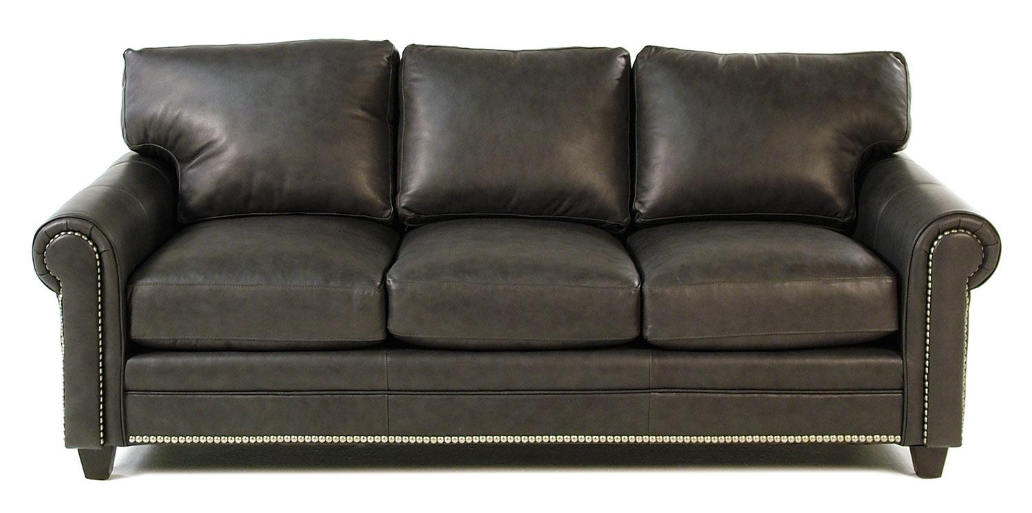 Bradington Young So You Leather Sofa - Item Number: 171-95