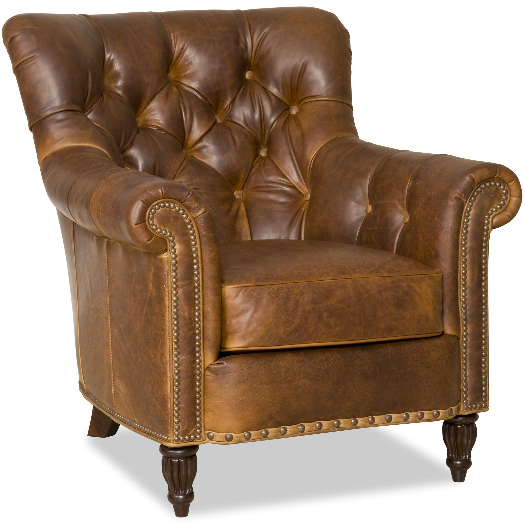 Beau Bradington Young Kirby Classic Tufted Reading Chair | Belfort Furniture |  Upholstered Chair