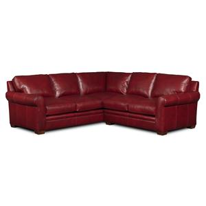 Bradington Young Landry 2 Pc Sectional Sofa  sc 1 st  Design Interiors : sectionals tampa - Sectionals, Sofas & Couches