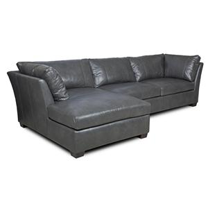Bradington Young Mendell 2 Pc Stationary Sectional
