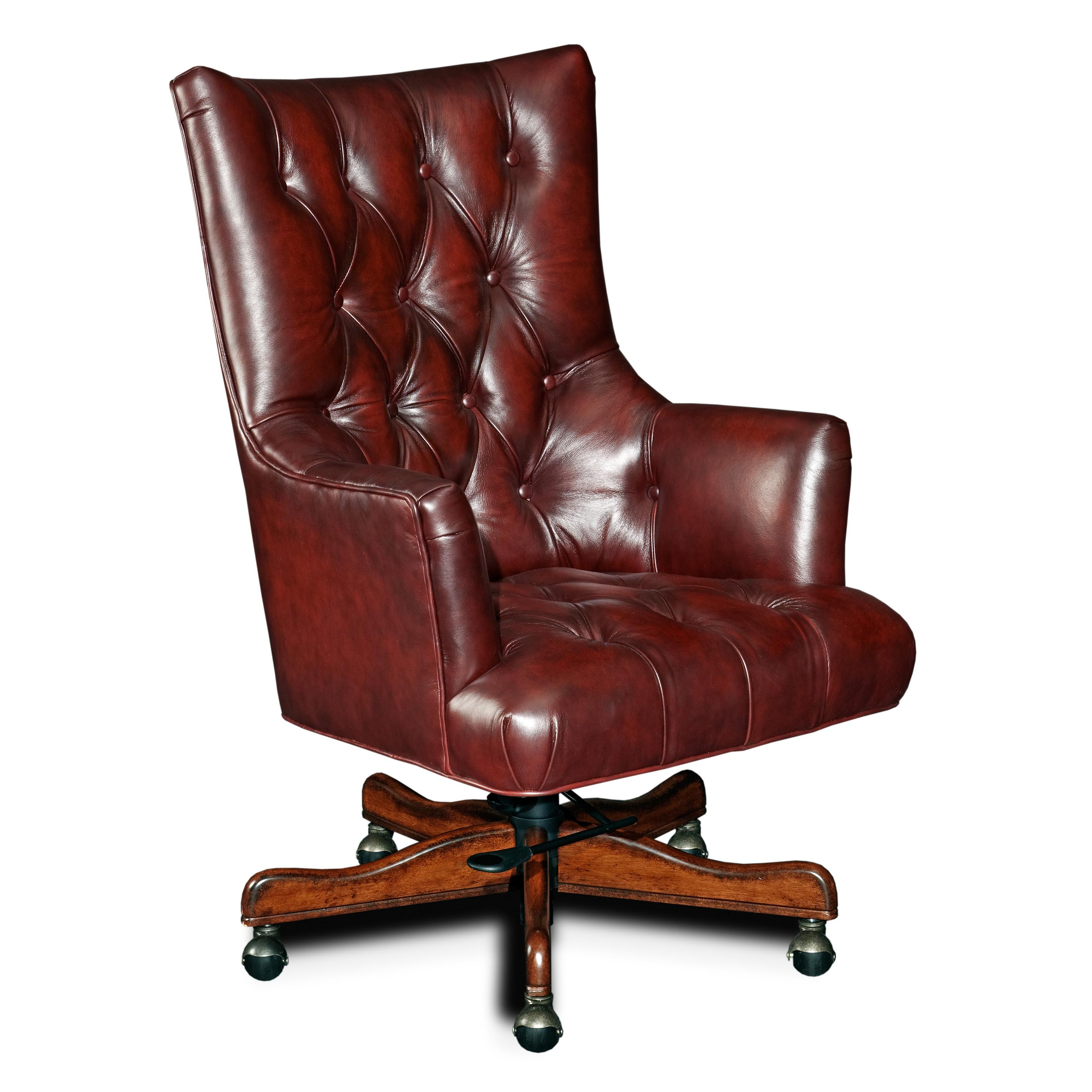 Hooker Furniture Executive Seating Executive Swivel Chair - Item Number: EC360-087