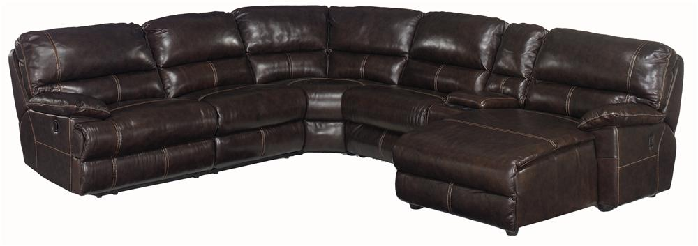 Hooker Furniture SS606 6 Piece Right Corner Sectional - Item Number: SS606RC-089