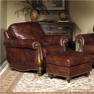 Bradington Young Sheffield Chair and Ottoman
