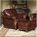 Bradington Young Sheffield Chair and Ottoman - Item Number: 703-25+OT