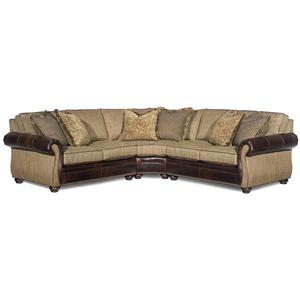 Bradington Young Sterling  Sectional Sofa