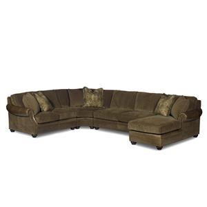 Bradington Young Warner  Sectional Sofa