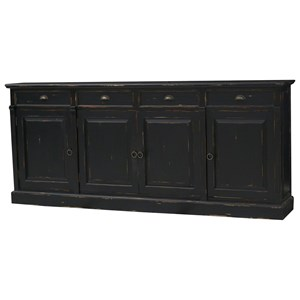 Bramble Homestead Hudson 4 Door Sideboard