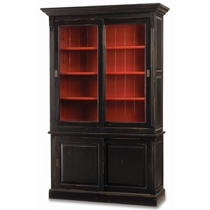 "Bramble Homestead Hudson 88"" Bookcase w/ 2 Sliding Doors"