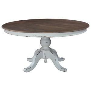 5u0027 Round Pedestal Table
