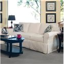 Braxton Culler 728 3-Seater Stationary Sofa with Slipcover - Item Number: 728-011XP