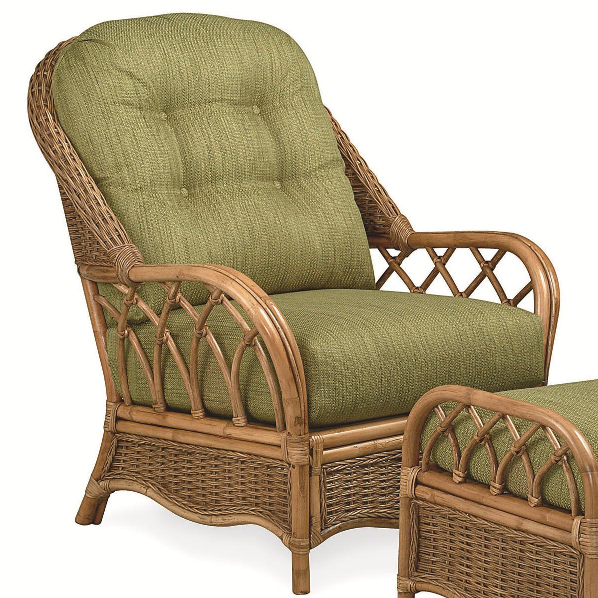 Braxton Culler Everglade Rattan Chair - Item Number: 905-01