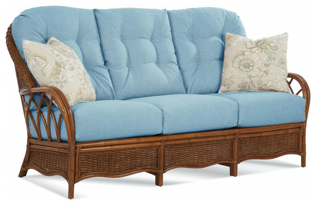 Everglade Rattan Sofa by Braxton Culler at Johnny Janosik