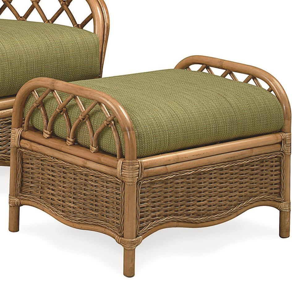 Mary's Home Furnishings Everglade Rattan Ottoman - Item Number: 905-09