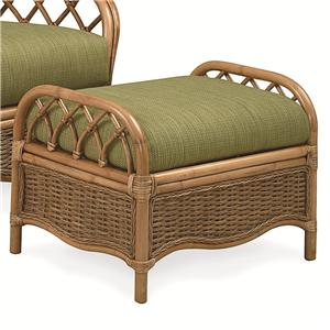 Mary's Home Furnishings Everglade Rattan Ottoman