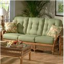 Vendor 10 Everglade Rattan Sofa - Item Number: 905-11 Fix