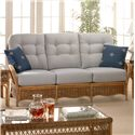 Braxton Culler Everglade Tropical Rattan Sofa - 905-11 Fix
