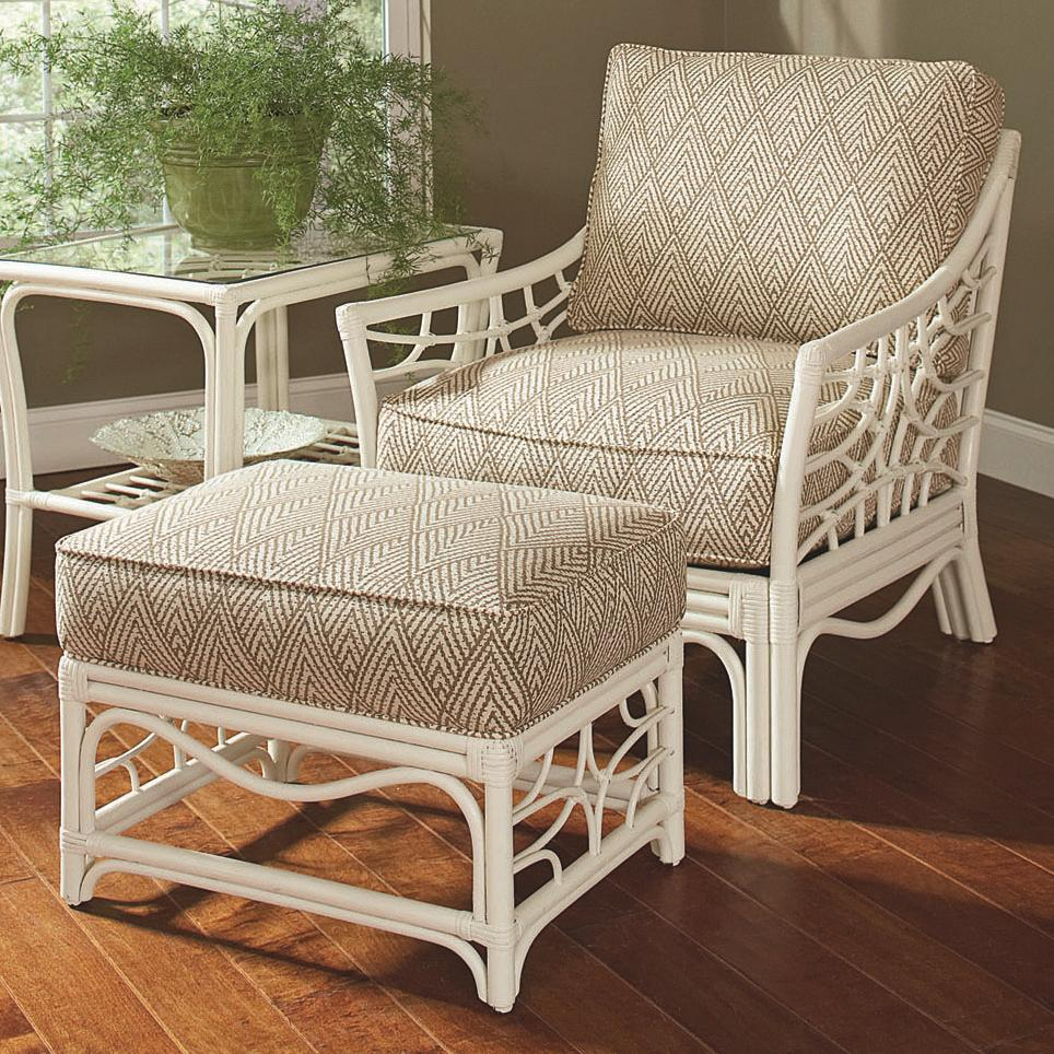 909 chair & ottoman by Braxton Culler at Alison Craig Home Furnishings
