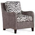 Braxton Culler Accent Chairs Koko Chair - Item Number: 515-001-802-82+Zebra