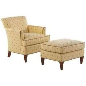 Vendor 10 Accent Chairs Tuscany Chair with Sloane Ottoman