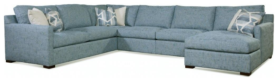 Bel Air 5 Piece Sectional by Braxton Culler at Johnny Janosik