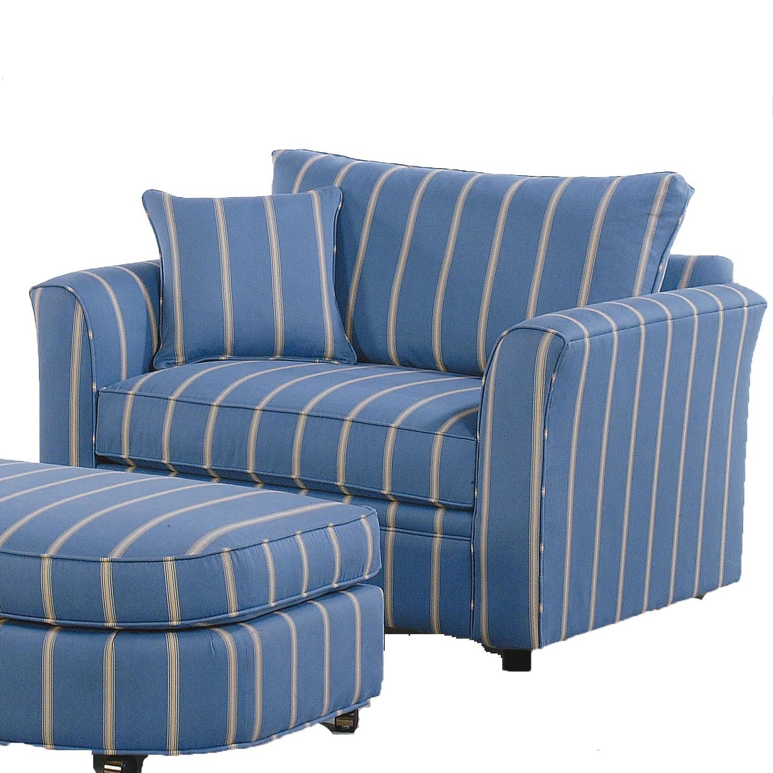 Braxton Culler Bridgeport Casual Chair and a Half with Sleeper