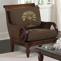 Braxton Culler Grand View Exposed Wood Chair - Item Number: 934-001-Brown-Palm