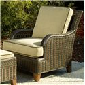 Vendor 10 Lake Geneva Outdoor Lounge Chair w/ Curved Arms
