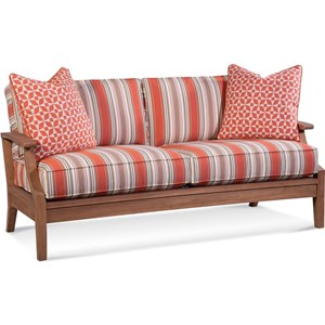 Outdoor Sofa With Drainable Cushions