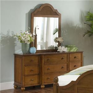 Vendor 10 Palmetto Place Dresser & Mirror