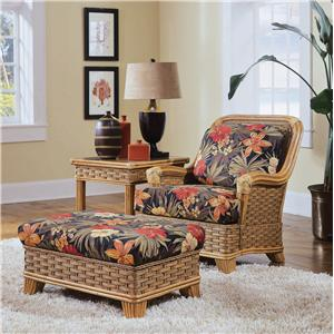 Vendor 10 953 Chair & Ottoman