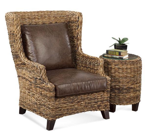 Rattan Coffee Table Sydney: Braxton Culler Sydney 2961-122 Wicker Chairside Table