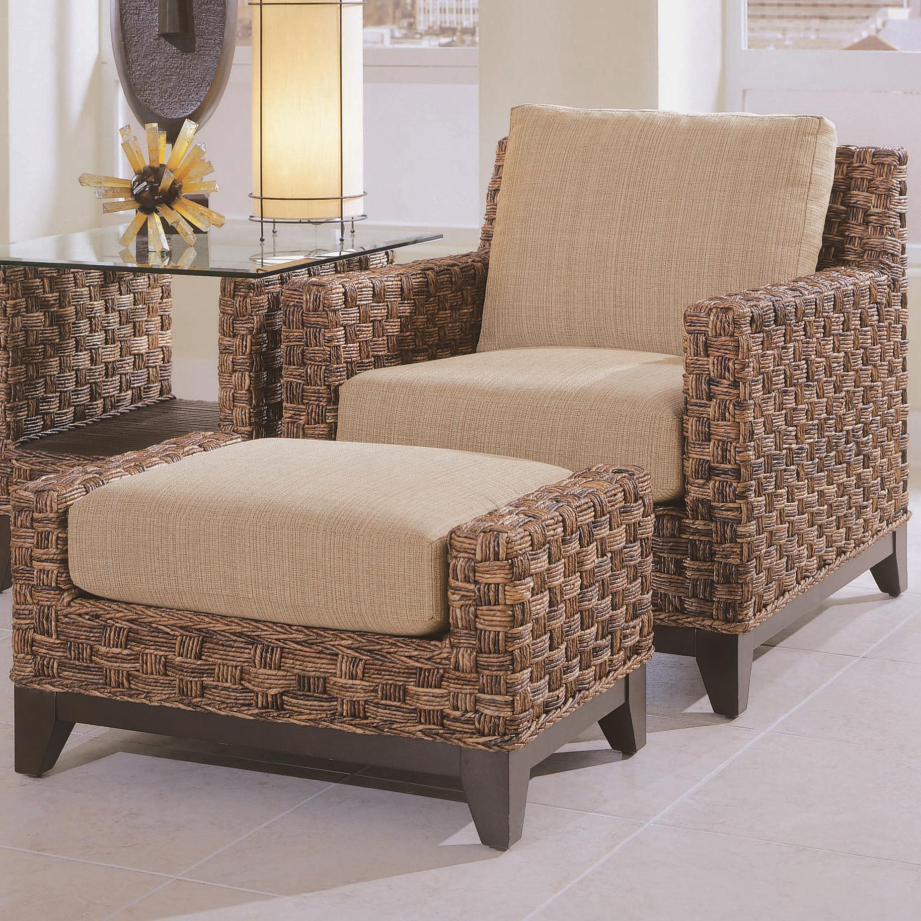Braxton Culler Tribeca 2960 Modern Wicker Chair And