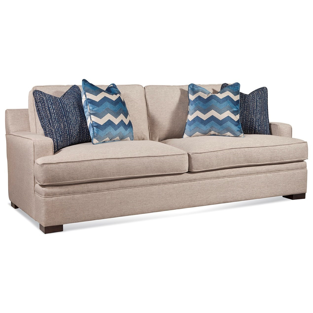 Braxton Culler Westchester Casual Track Arm Sofa With 7